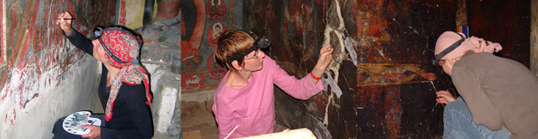 Conservation and restoration of wall paintings